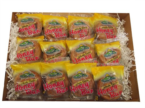 Honey Buns (Whole Grain) - 24 Per Box