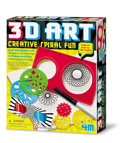 4M 3D Art Creative Spiral Fun Kit - 1