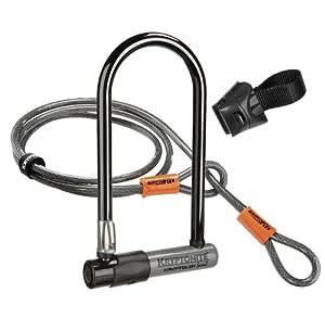 Kryptonite Kryptolok Series 2 Standard Bicycle U-Lock with Transit FlexFrame Bracket... by Kryptonite
