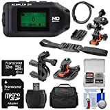 Drift Innovation Stealth 2 Wi-Fi HD Video Action Camera Camcorder with 32GB Card + 2 Helmet, Flat Surface & Bike Handlebar Mounts + Case + Kit