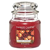 Yankee Candle Medium Jar Candle, Mandarin Cranberry