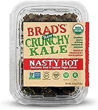 Brad39s Raw Organic Gluten Free Crunchy Kale Chips Nasty Hot 25 Ounce