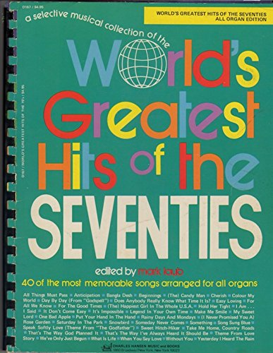 World`s Greatest Hits of the 70`s (Chord Organ Music Book)