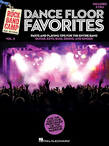 Dance Floor Favorites - Rock Band Camp Vol. 5: Book/2-CD Pack