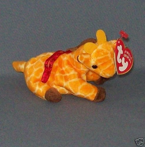 TY Jingle Beanie Baby - TWIGS the Giraffe