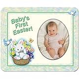 Baby's-1st-Easter - Basket Magnet Photo Frame Gift
