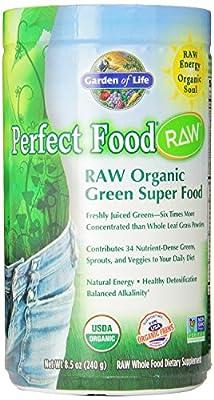 Garden of Life Perfect Food RAW Organic Powder, 240g Powder , Pack of 2