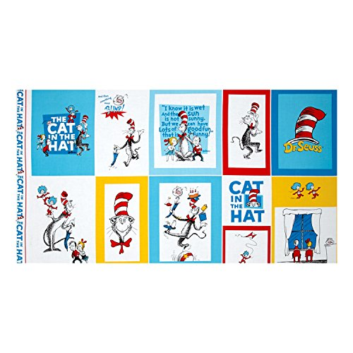 The Cat In The Hat Panel Multi Fabric