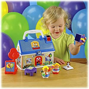 Little People Birthday Party Playhouse