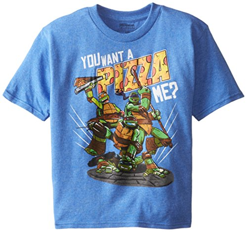 Teenage Mutant Ninja Turtles Little Boys' You Want A Pizza Me Short Sleeve Tee