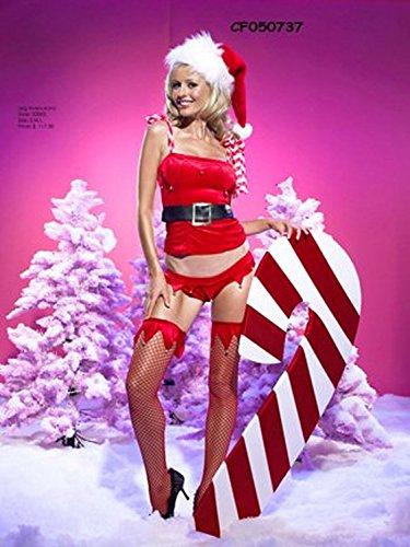 Naughty Or Nice Santa'S Helper - Small - Dress Size 4-6