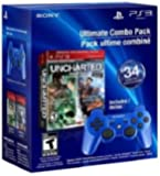 PS3 Uncharted 1 and 2 Dual Pack DualShock 3 - Blue - Standard Edition