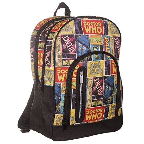 doctor-whor-retro-comic-grand-sac-a-dos-sac-a-dos-sac-a-dos-bbc-dw-tv-show-produit-officiel