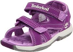 Timberland Mad River 2-Strap Sandal (Toddler/Little Kid/Big Kid),Purple,5 M US Big Kid