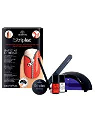 Kit Alessandro Striplac : Vernis rouge Pell-Off