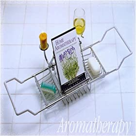 Aromatherapy Brass Bathtub Caddy
