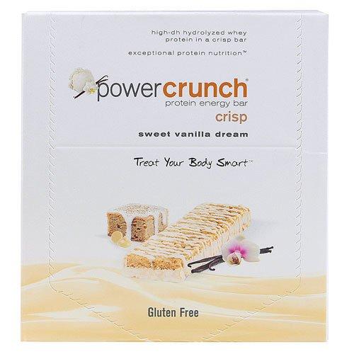 Power Crunch Protein Bars, Chocolate Sweet Vanilla Dream - 40 Grm ( Case Of 12)