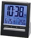 ADESSO(アデッソ) 目覚まし時計 大画面デジタル表示 ブラック SA-911BK