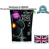 Dylon - Dylon - Lessive & Teinture - Lave & Teint en noir pendant le lavage en machine - Grand contenant - 400g -Noir