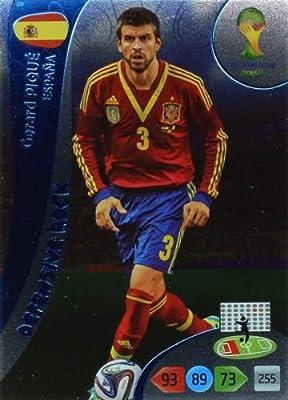 FIFA World Cup 2014 Brazil Adrenalyn XL Gerard Pique Defensive Rock