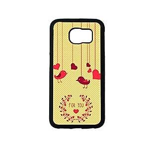 Vibhar printed case back cover for Samsung Galaxy S6 Edge 4U