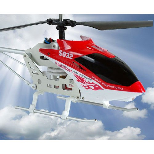 35-Ch Metal Indoor RC Helicopter S032G