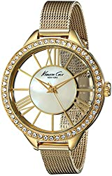Kenneth Cole New York Women's KC0008 Transparency Mother Of Pearl Watch