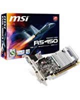 MSI R5450-MD1GD3H/LP Carte graphique AMD 5450 1Go DDR3 650 MHz PCI-Express 16x