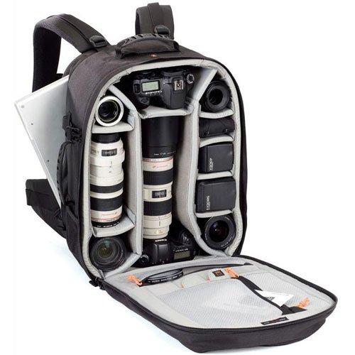 Lowepro カメラリュック プロランナー 450 AW 25L レインカバー PCスペース有 三脚取付可 ブラック 361456
