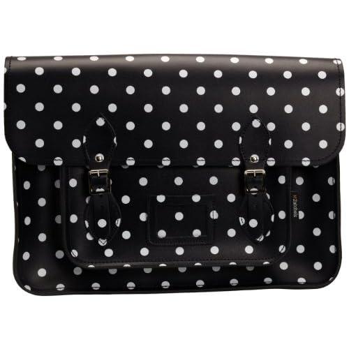 Zatchels Women's Polka Dot 16 Cross-body Bag