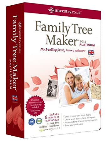Family Tree Maker 2011 Platinum (PC)