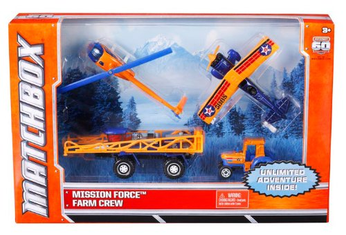 Matchbox Mission Force Farm Crew