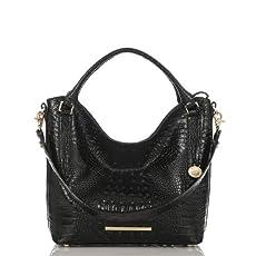 Norah Hobo Bag<br>Black Melbourne