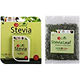 So Sweet Combo Of 100 Stevia Tablets And Stevia 25 Gm Leaf Pack
