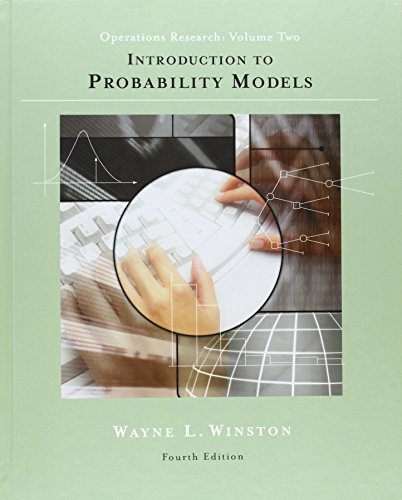Introduction to Probability Models: Operations Research,...