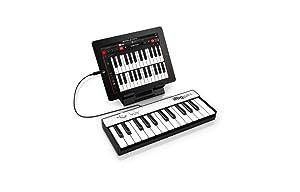 IK Multimedia iRig Keys MINI 25-key universal keyboard controller for iPhone, iPad, Android and Mac/PC