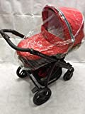 New Raincover For Bebecar Stylo Carrycot (198)