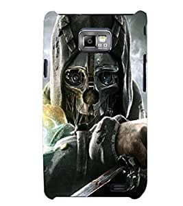 PRINTSHOPPII SKULL DEATH Back Case Cover for Samsung Galaxy S2::Samsung Galaxy S2 i9100