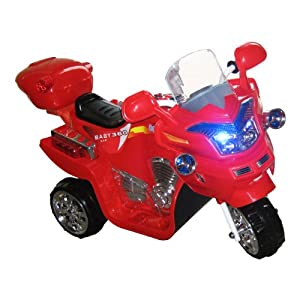 Lil' Rider FX 3 Wheel Battery Powered Bike, Red