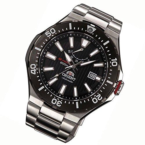 Orient orologio da uomo analogico automatico in acciaio inox sel07002b0