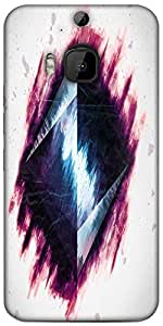 Snoogg Pyramid From Above 2687 Designer Protective Back Case Cover For HTC M9 Plus
