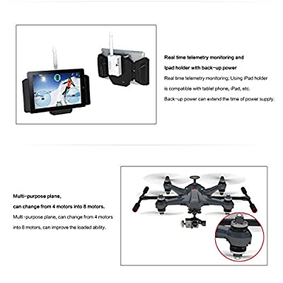 Nicky's Gift Scout x4 Carbon GoPro Ready Devo F12E Ground Station Controller
