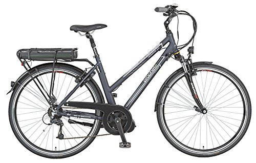 Prophete Damen E-Bike E-Novation Navigator 8-Gang Deore, Nachtblau Matt, 50 cm, 52445-0111
