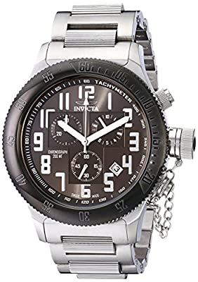 "Invicta Men's 15559SYB ""Russian Diver"" Stainless Steel Watch"