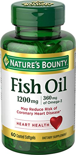 Nature's Bounty Fish Oil 1200 mg Omega-3 and Omega-6, 60 Odorless Softgels (Packaging May Vary) (Natures Bounty Omega 3 6 compare prices)