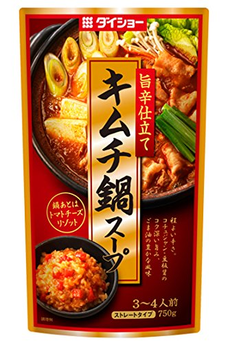 キムチ鍋スープ 750g×2本