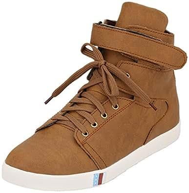 Imcolus Men's Brown Casual Shoes - 8