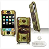 Money Sign $ Hundred Dollar Hard Case Cover For Apple iPhone Protective Premium SNAP-ON