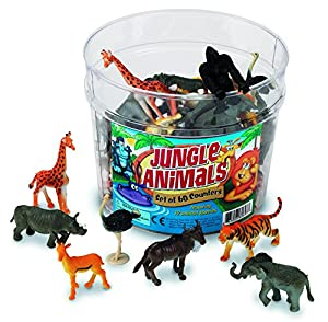 Learning Resources Jungle Animals Set Of 60 by Learning Resources