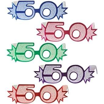 """50"""" Glittered Foil Eyeglasses Case Pack 275"""